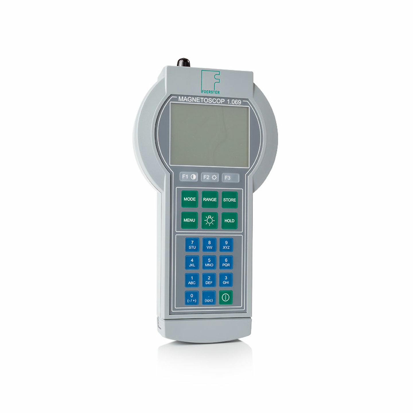 Portable Precision Fluxgate Magnetometer, Permeability Meter, Susceptibility Meter, Gaussmeter, Teslameter