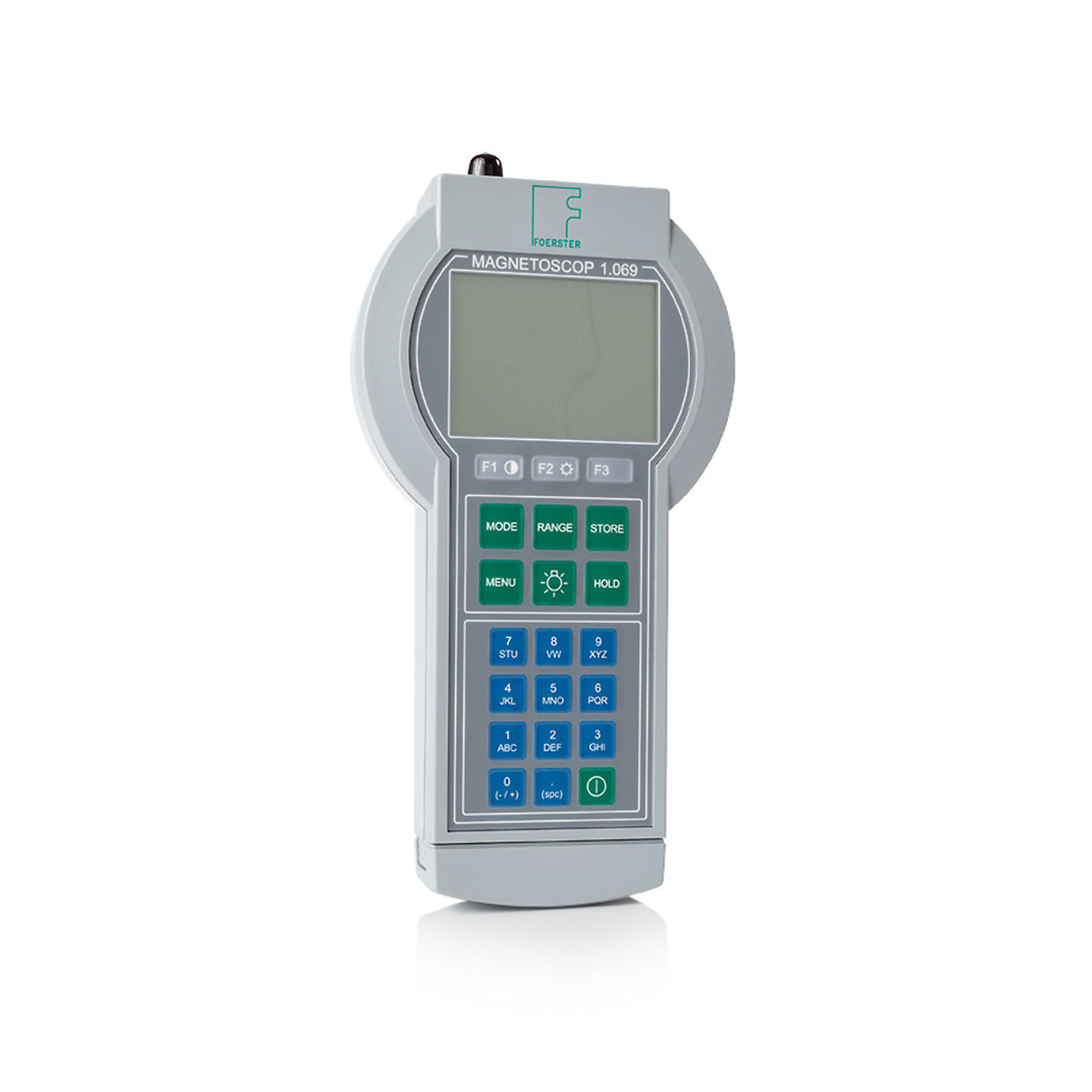 Portable Precision Fluxgate Magnetometer, Permeability Meter, Susceptibility Meter, Gaussmeter, Teslameter Large